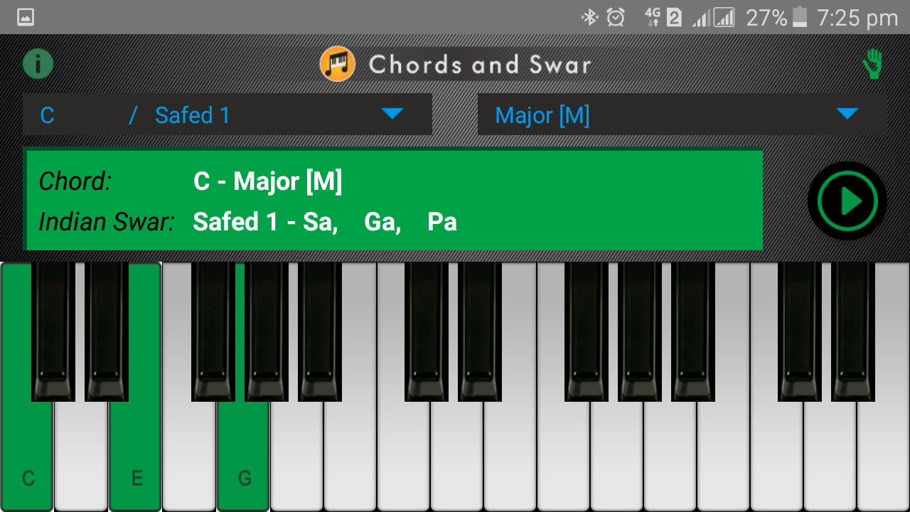 Chords and swar android apps on google play chords and swar screenshot hexwebz Image collections