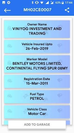 RTO Vehicle Information for PC