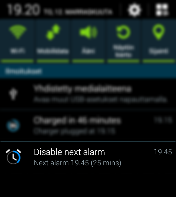 Smooth Alarm Notifier- screenshot