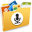 File Manager by Voice – Speech Recognition app icon