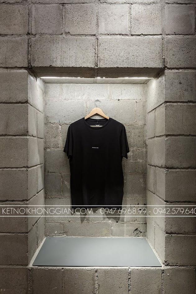 thiết kế shop thời trang Itsu 4