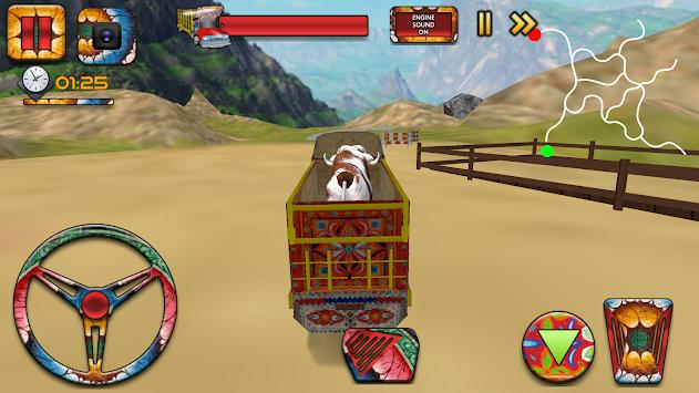 Eid Animal Transport Cargo Truck Simulator 2017 apk screenshot