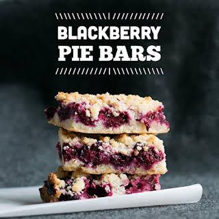 Blackberry Pie Bars.