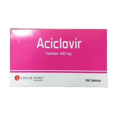 aciclovir 400mg 10tabletas blister caplin point