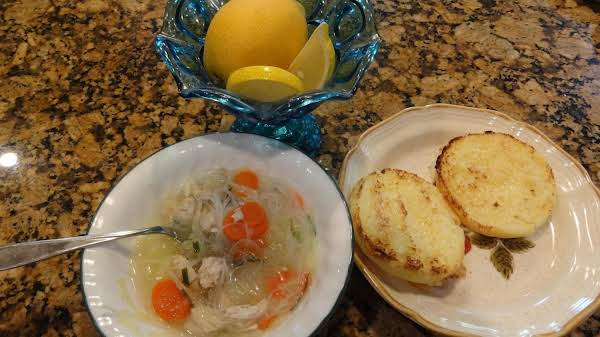 Lemon Chicken And Shrimp Soup -- Bonnie's Recipe