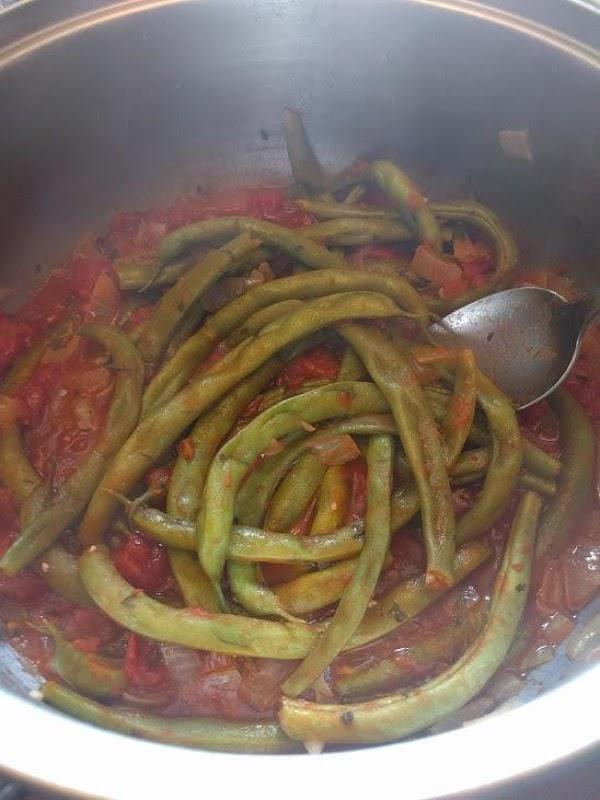 Cretan Green Beans Recipe