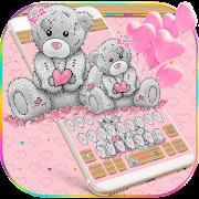 Cute Teddy Bear Keyboard Theme