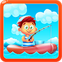 Fishing for Kids Catch fish icon