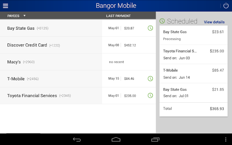 android Bangor Mobile Screenshot 13