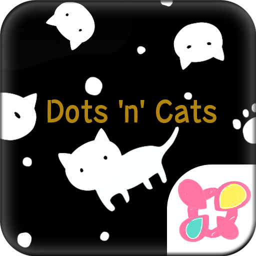 Cute Wallpaper Dots 'n' Cats Icon