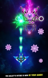 Space Shooter Galaxy Attack Mod Apk 1.424 (Unlimited Money) 4