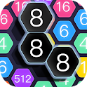 Hexa Cell - Number Blocks Connection Puzzle Games icon