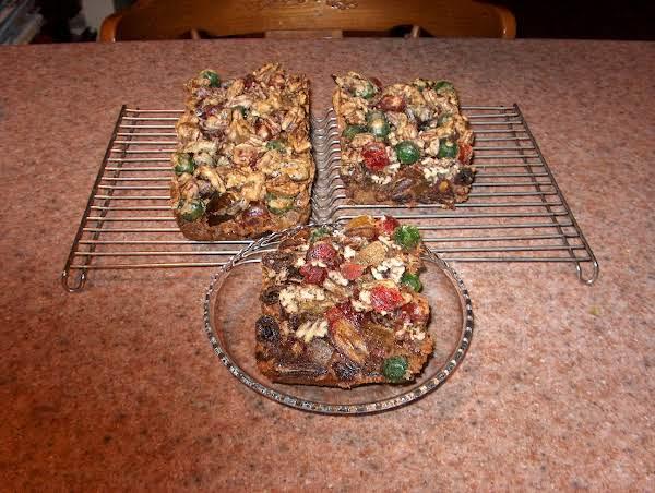 Pecan Fruit Cake Recipe