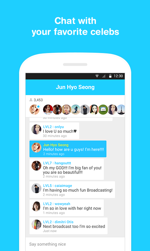 V Live App