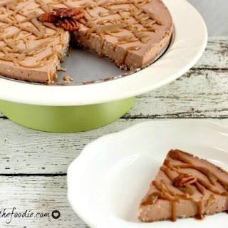 Chocolate Mousse Caramel Pecan Cheesecake