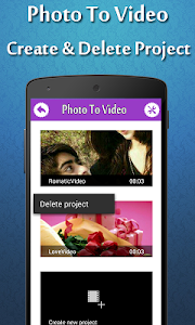 Photo To Video Maker screenshot 1