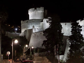 Photo: We arrived in Dubrovnik after our dinner.  We took a quick trip into the old town in the evening.
