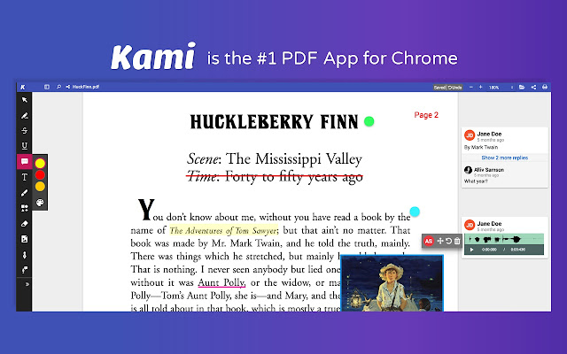 Kami pdf and document markup chrome web store best pdf and document annotation and markup tool works with google drive and google classroom ccuart Choice Image