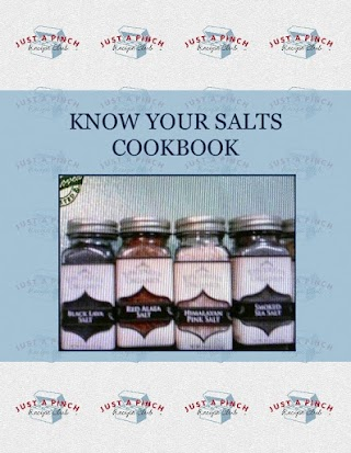 KNOW YOUR SALTS   COOKBOOK