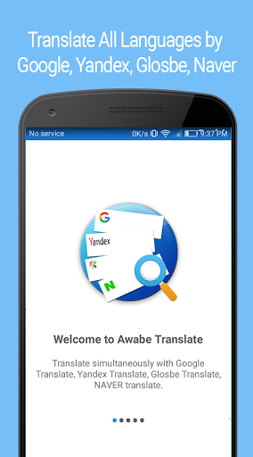 Translate All Languages by Google, Yandex, Glosbe 1.2.9 screenshots 1