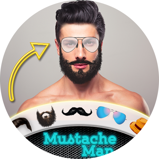 Men Beard Hairstyle Photo Editor
