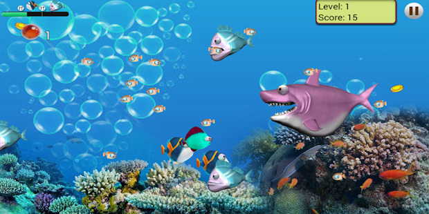 Feeding frenzy adventure 2016 for pc and mac for Fish frenzy game
