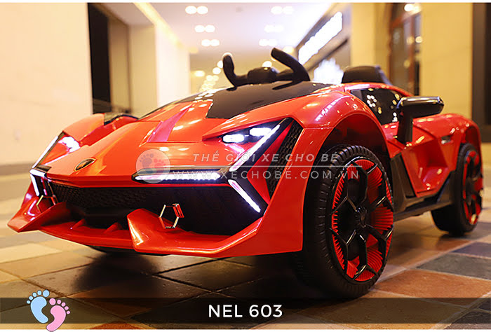 xe ô tô điện trẻ em Lamborghini NEL-603 8