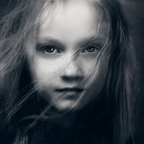 Amazon Heart... by Andy Dyso - Black & White Portraits & People (  )