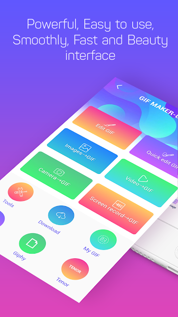GIF Maker, GIF Editor, Video Maker, Video to GIF Android App Screenshot