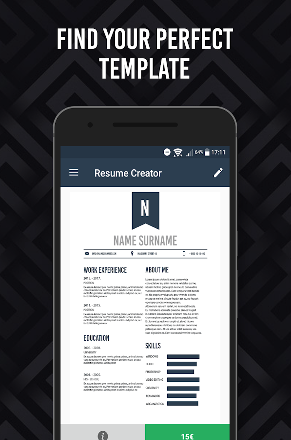 mobile resume creator write a better resume resume maker for ipad individual software cv resume creator