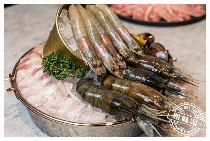 貳堂鍋物紅頭泰國蝦海鮮總匯