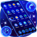Best Blue Launcher For Android icon
