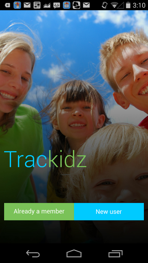 Trackidz Child- screenshot