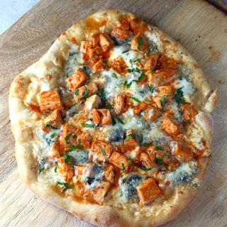Buffalo Chicken & Blue Cheese Pizza