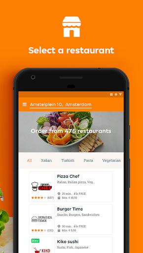 Takeaway.com - Order Food Apk 2