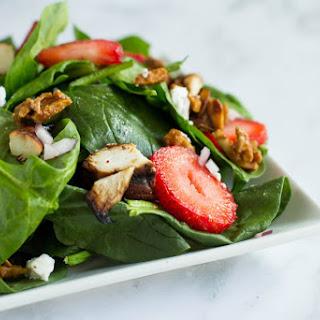 BBQ Chicken & Strawberry Salad