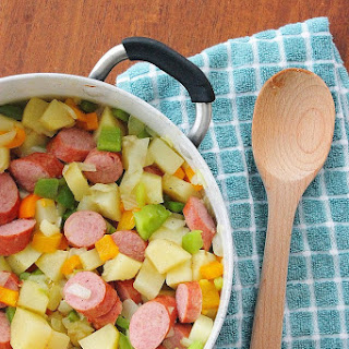 Sausage and Hash Skillet