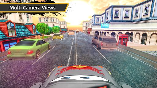 Lightning Cars Traffic Fast Racing 3D 1.1 screenshots 1