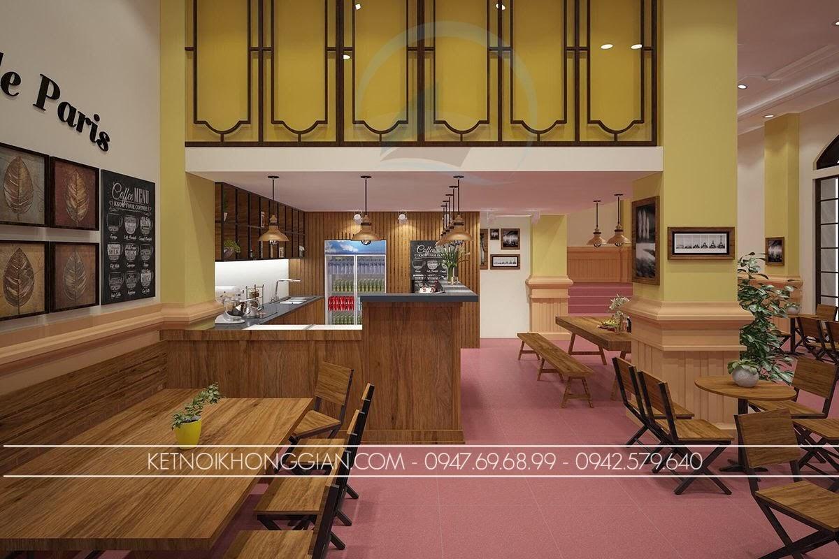 Trang trí quán cafe cổ điển
