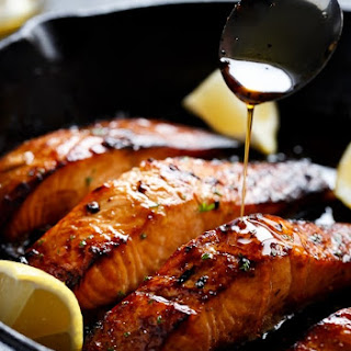 Best Ever Browned Butter Honey Garlic Salmon Recipe