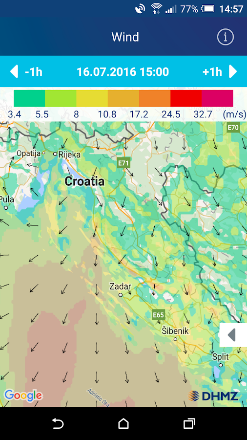 Nautical Info Service Croatia- screenshot