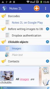 Notes 2L - náhled
