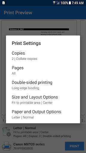 NokoPrint - Wireless and USB printing 3.2.1 screenshots 4