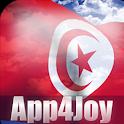 Tunisia Flag Live Wallpaper icon