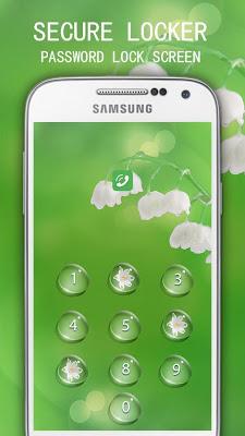 Applock Theme Blossom Flower - screenshot