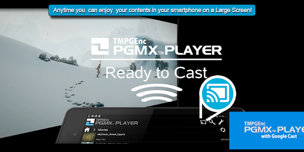TMPGEnc PGMX PLAYER forAndroid screenshot 4