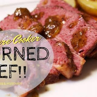 Pressure Cooker Corned Beef.