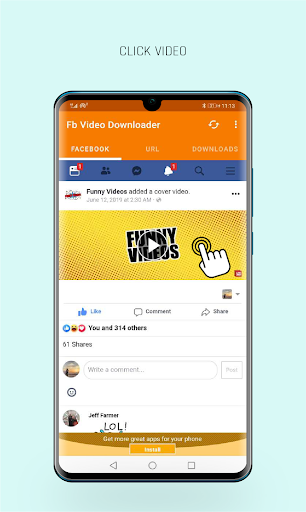 FastVid: Video Downloader for Facebook 4.3.12 Screenshots 2