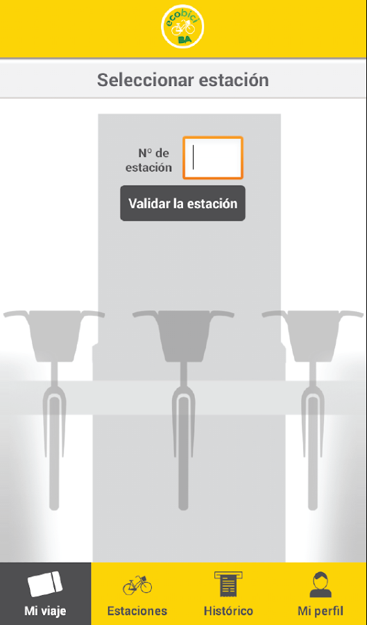 BA EcoBici- screenshot