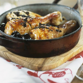 Baked Chicken with Oilves